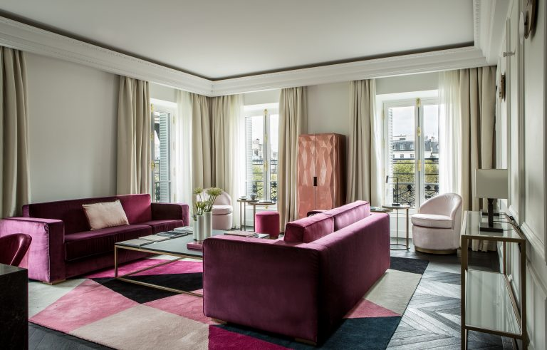 Fauchon_Prestige Suite 809 salon