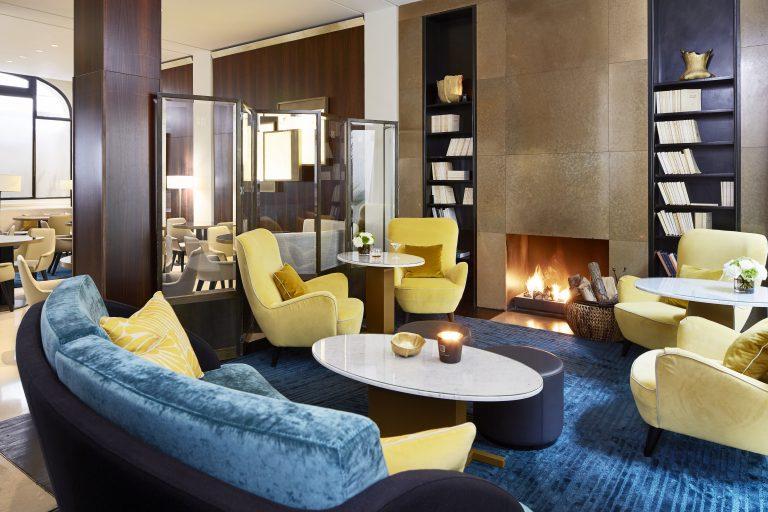 Hotel Montalembert by B Signature_Fireplace Montalembert