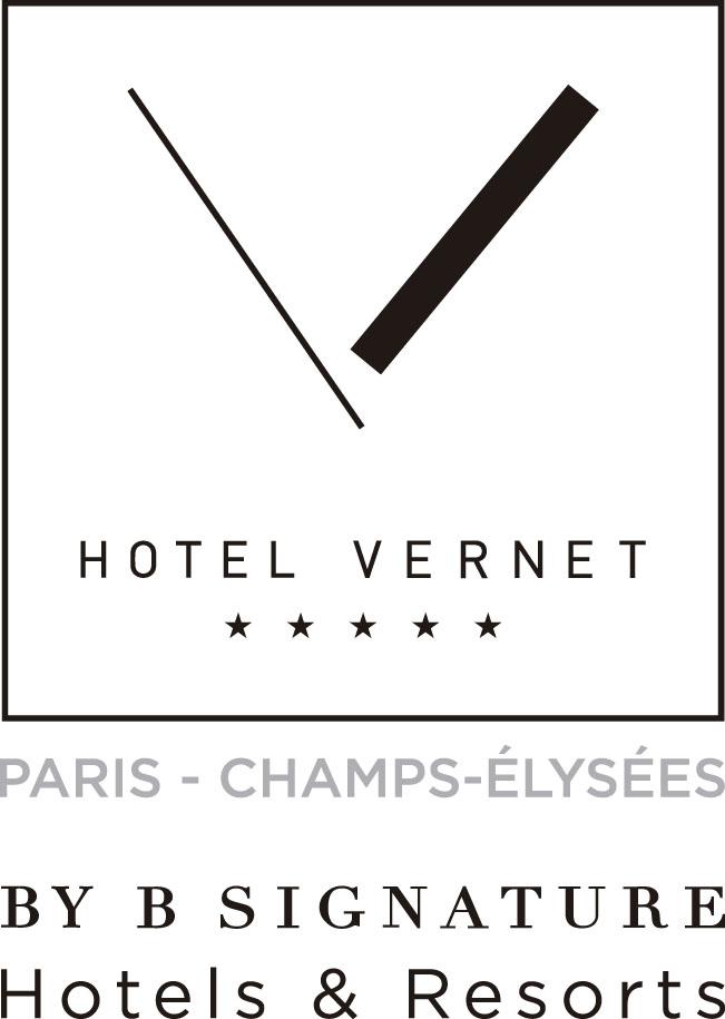 Hotel Vernet by B Signature_Logo Vernet-quadri copiar