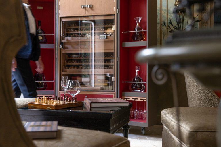 La Réserve Paris - Cigar Lounge @Grégoire Gardette (9)