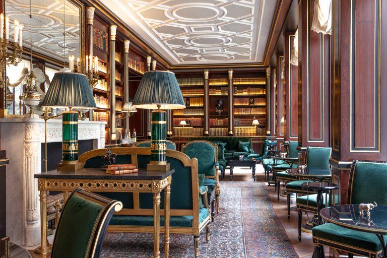 La Réserve Paris - Library @Grégoire Gardette (2)