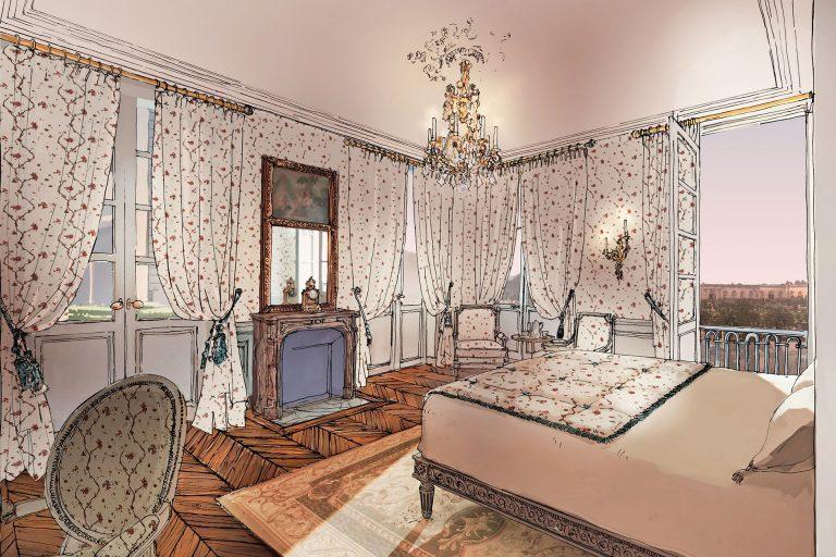 Airelles Château de Versailles_Chambre L'Orangerie