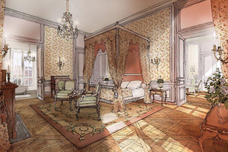 Airelles Château de Versailles_Suite Necker