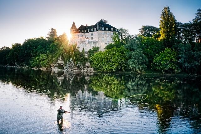 FRANCE. LE LOT. Le Château de la Treyne (hôtel Relais & Chateau ).