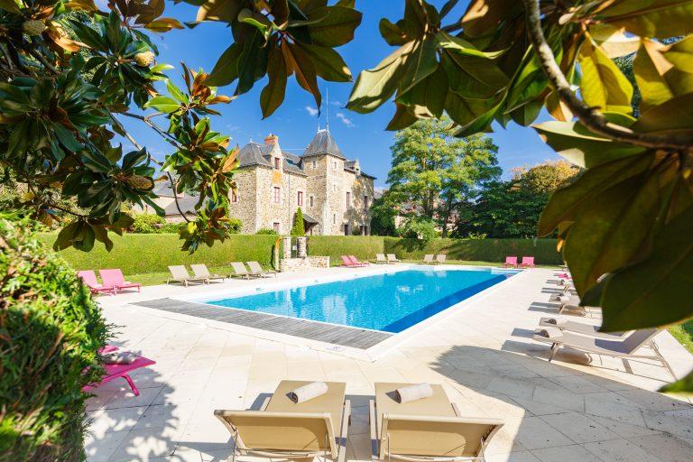 Domaine de La Bretesche Golf_Heated swimming pool