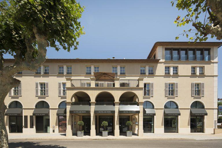Hôtel de Paris Saint-Tropez_façade hotel de paris saint tropez