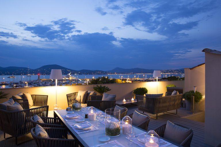 Hôtel de Paris Saint-Tropez_private dinner dolce vita hotel de paris saint tropez