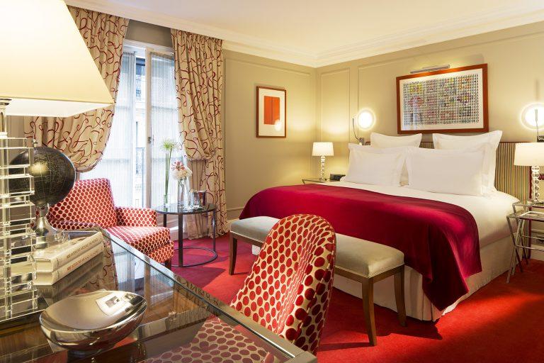 Le Burgundy Paris_Deluxe room