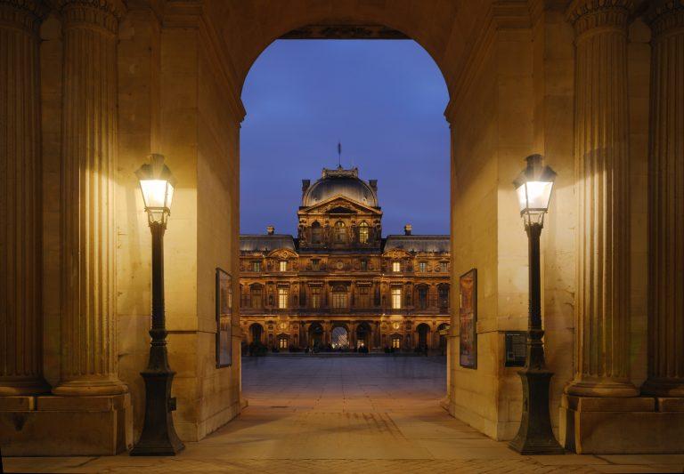 Cour carree du louvre, Paris