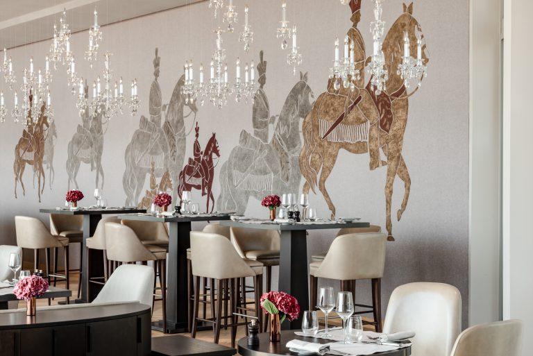 Royal Champagne_Tables dressées Le Bellevue
