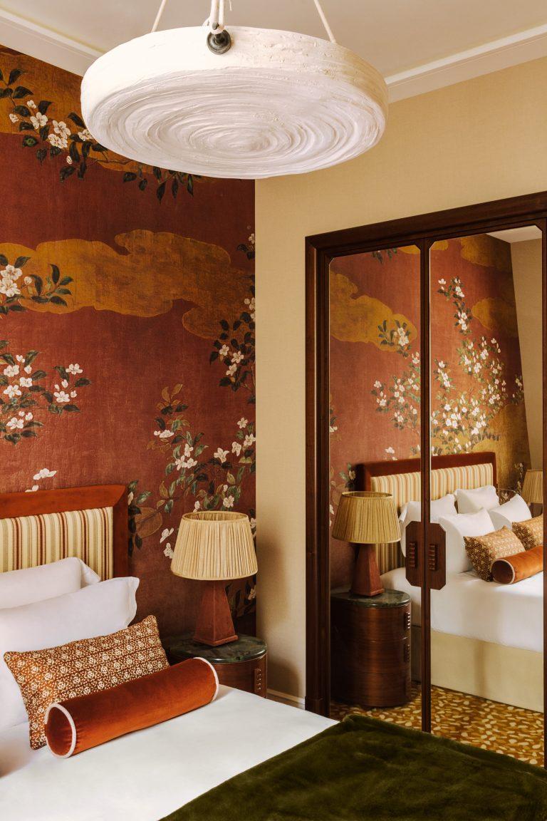 Saint James Paris bedroom detail