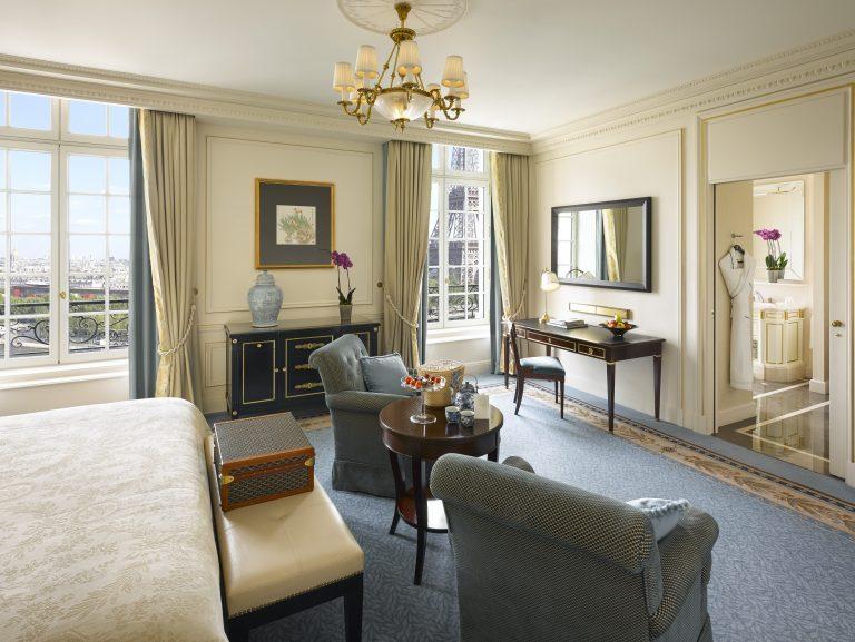 Shangri-La Hotel, Paris_Eiffel tower view Room- 409