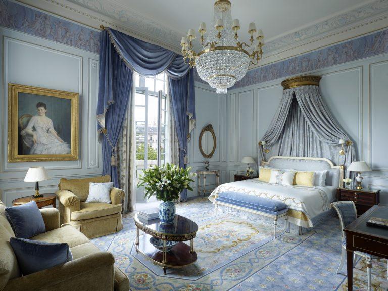 Shangri-La Hotel, Paris_L'Appartement Prince Bonaparte bedroom A