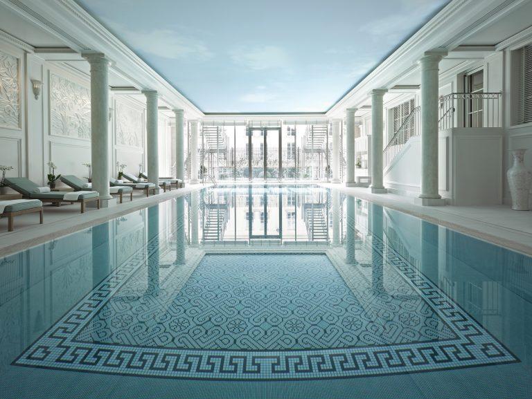 Shangri-La Hotel, Paris_Swimming pool