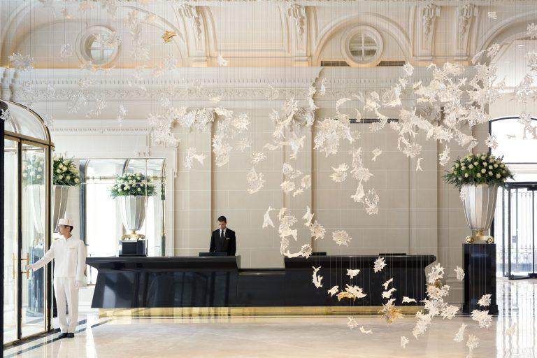 The Peninsula Paris_Paris_Public Spaces & Facade_Lobby With Talent_LR