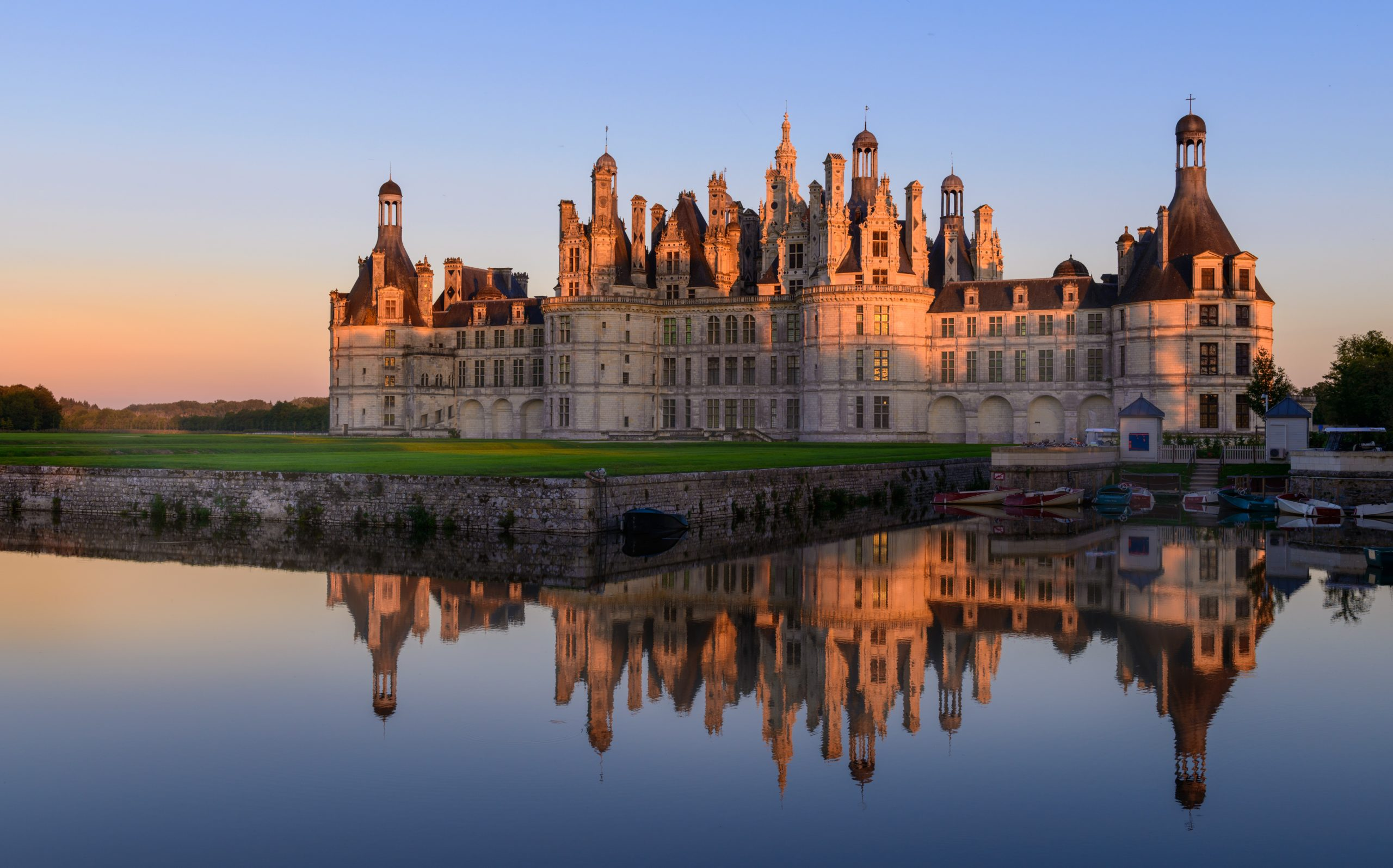 Chambord,Castle,In,France