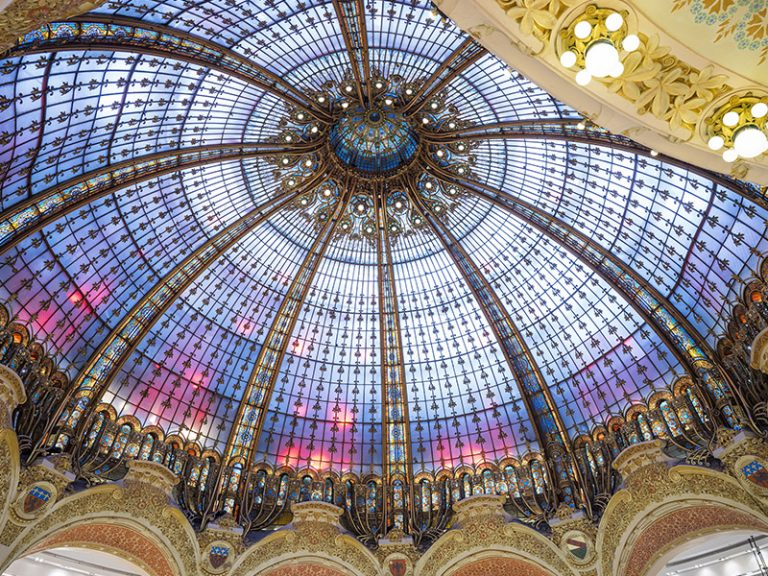 Galeries Lafayette Dome view
