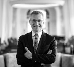 EVIAN RESORT - General Manager od the Hotels Laurent Roussin PB